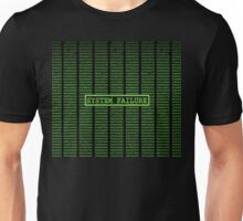 Matrix System Failure Unisex T-Shirt