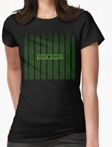 Matrix System Failure Womens Fitted T-Shirt