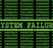 Matrix System Failure Sticker