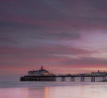 Eastbourne pier sunset by willgudgeon