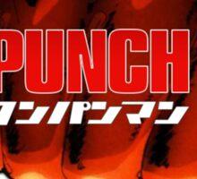 One Punch Man T-Shirt Sticker