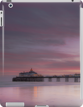 Eastbourne pier sunset by willgudgeon