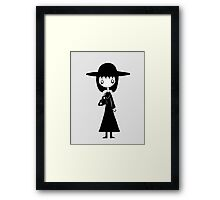 Lydia from Beetlejuice  Framed Print