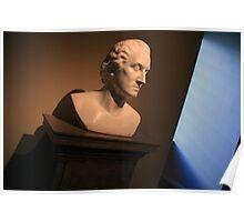 George Washington Dark Blue Poster