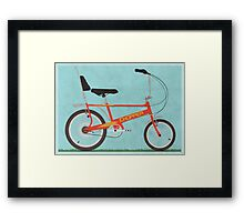 Chopper Bike Framed Print