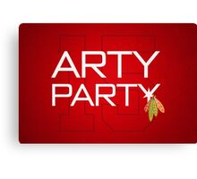 Arty Party Canvas Print