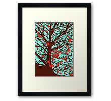 A windy day Framed Print