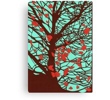 A windy day Canvas Print