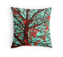 A windy day Throw Pillow