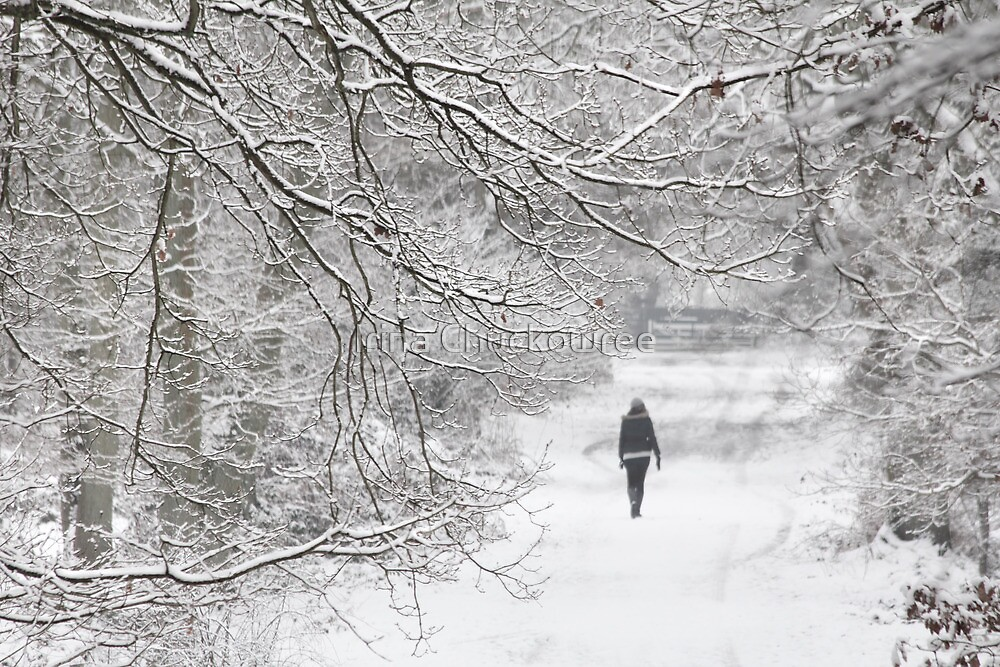 Disappearing into January by Irina Chuckowree