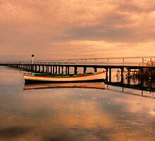 Looooooooong jetty by Christina Brunton