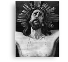 The Crucifix of Limpias Canvas Print