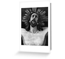 The Crucifix of Limpias Greeting Card