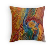 Abstract Painting 1 Throw Pillow
