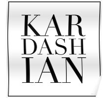 Kardashian Poster