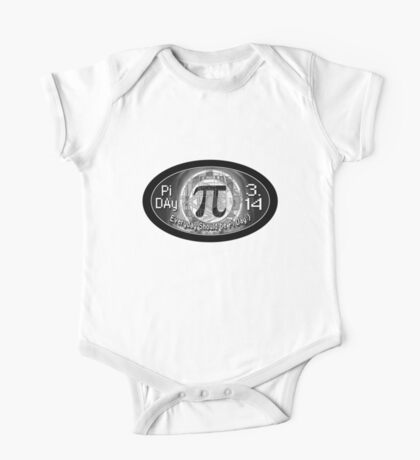 Pi Day Oval Design One Piece - Short Sleeve