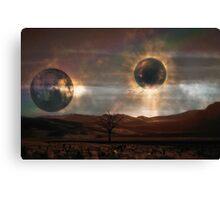 The Dead Planet... Canvas Print