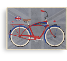 British Bicycle Canvas Print