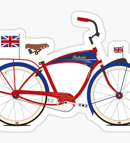 British Bicycle Sticker