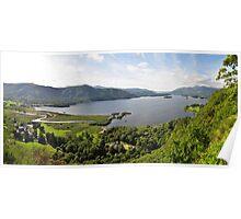 Derwent Water, Lake District Poster