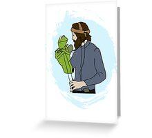 Jim Henson  Greeting Card