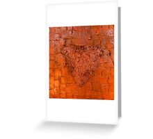 Mixed Media Abstract 3 Greeting Card