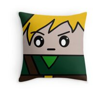 Link Squ'ed Throw Pillow
