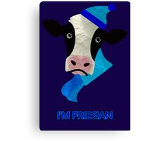 I'm Friesian Canvas Print