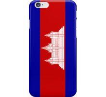 Cambodia Flag iPhone Case/Skin