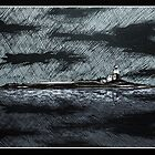 Coquet Island in Inks by SerendipityArt