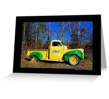 Finks Country Farm Old Truck - Wading River, New York Greeting Card