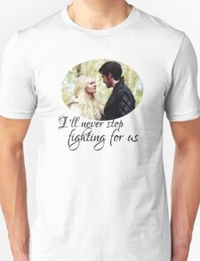 Captain Swan + quote T-Shirt