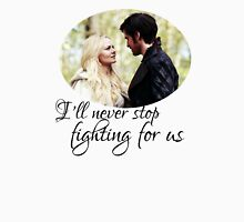 Captain Swan + quote Unisex T-Shirt