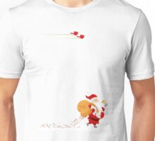 Santa and small red birds Unisex T-Shirt