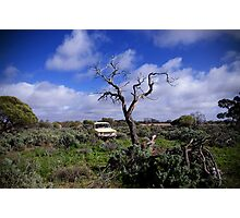 Tough country Photographic Print