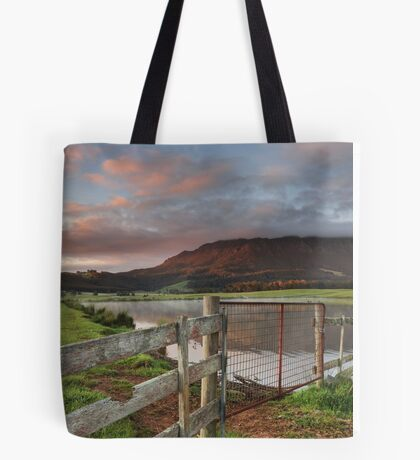 Mount Roland Sunrise Tote Bag