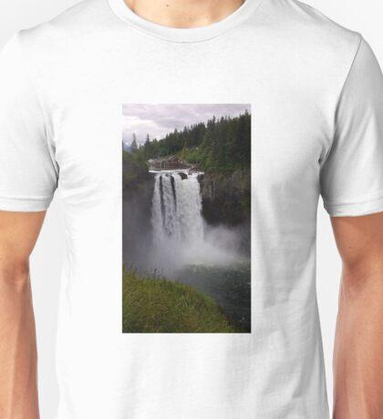 Snoqualmie Falls In Washington Unisex T-Shirt