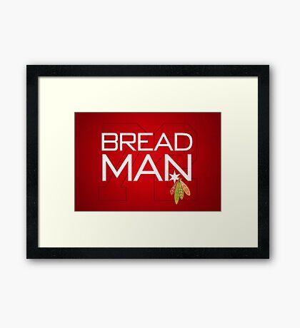 Bread Man Framed Print