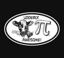 Funny Cow Pi Udderly Awesome One Piece - Short Sleeve