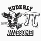 Funny Cow Pie Pi by MudgeStudios