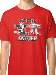 Funny Cow Pie Pi Classic T-Shirt