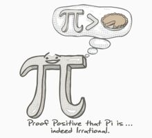 Proof Pi is Indeed Irrational by MudgeStudios