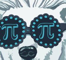 Funny Pi-Polar Bear Sticker
