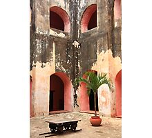 Convent Courtyard Photographic Print