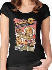 Don Corne-O's Women's Fitted Scoop T-Shirt