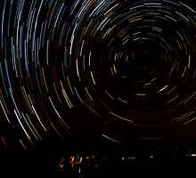 Star Trails by Nigel Donald