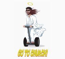 Go To Church! Kids Tee