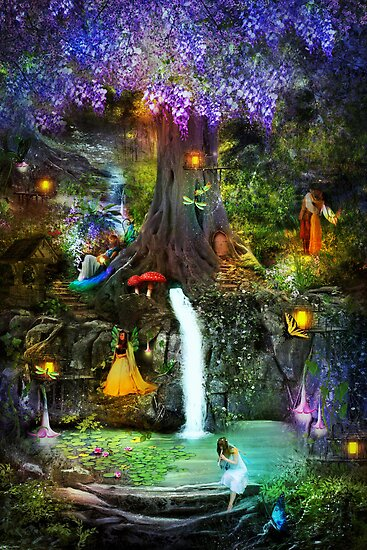 Fairy Bower by Vanessa Barklay
