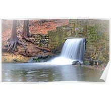 Stony Brook Grist Mill Poster