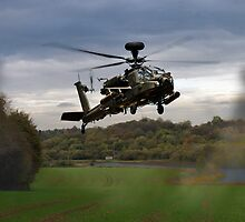 Apache In The Field by James Biggadike